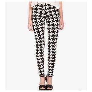 Pants - Houndstooth stylish leggings